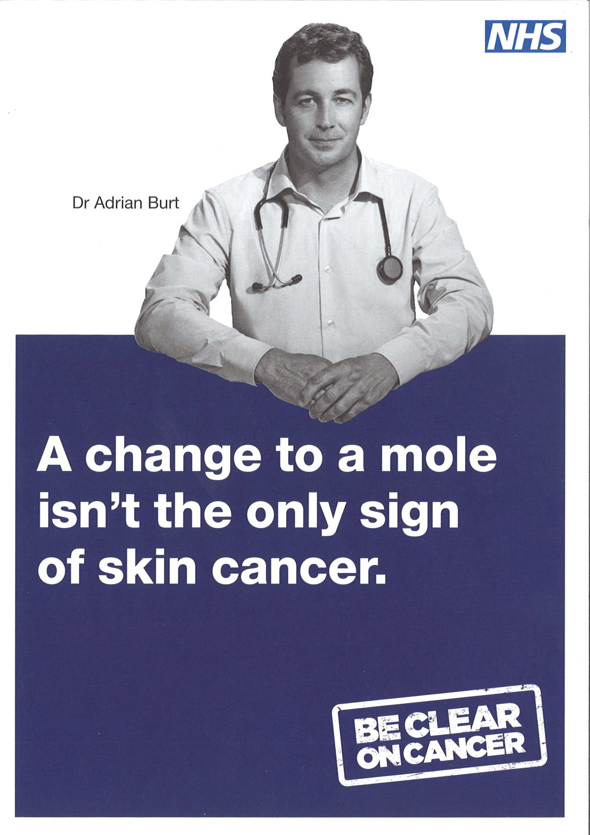 Image result for nhs be clear on cancer skin cancer